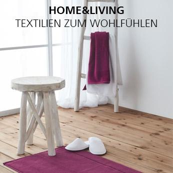 HOME&LIVING: Textilien zum Wohlfühlen