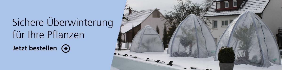 Überwinterung - wirkungsvoller Winterschutz