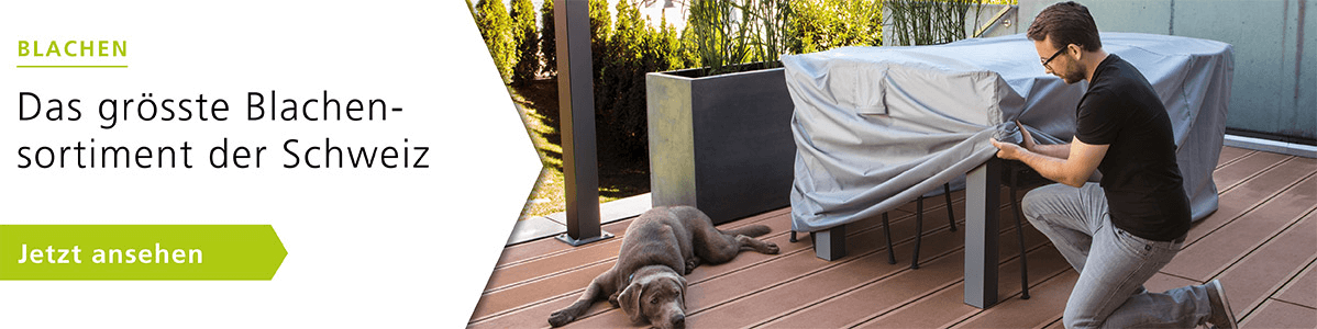 Blachen: der perfekte Schutz für Gartenmöbel