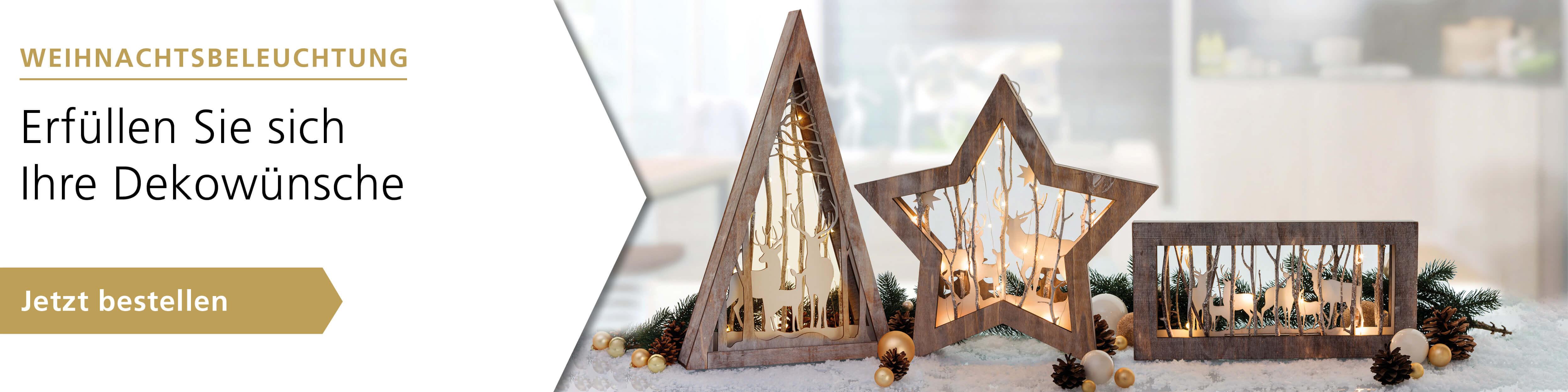 Erfüllen Sie sich Ihre Dekowünsche - Weihnachtsbeleuchtung