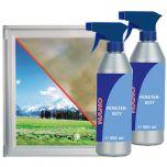 Nettoyant pour fenêtres NANO plus au prix avantageux, 2×500 ml