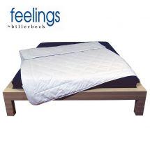 feelings by billerbeck Wildseiden-Duvet «Sonne»