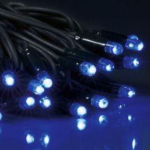LED Einzelstrang mit 80 blauen LED
