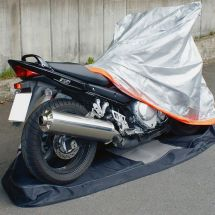 Motorradabdeckung, 246x104x127cm PVC 480g/m2