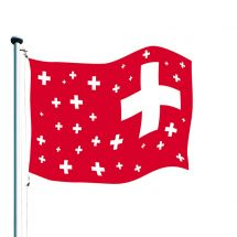 Schweizerfahne «Celebration» Superflag® 150x100 cm