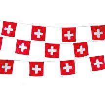 Chaîne de fanion Suisse