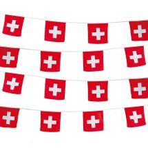 Fahnenketten Schweiz, 3er Set