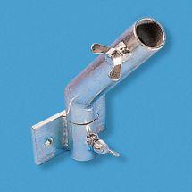 Fahnenstangenhalter 1-Armig, schwenkbar 45 Grad ø 30 mm