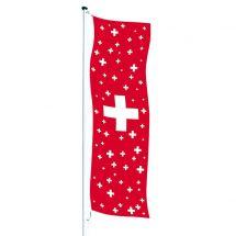 Drapeau crépitant Suisse «Celebration»