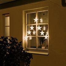 LED Sternenvorhang