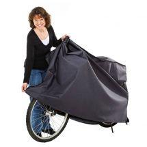 Blache für Velo und Motorrad,  170x105x85 cm anthrazit 270 g/m2