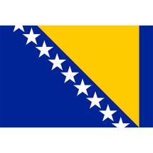 Länderfahne Bosnien und Herzegowina