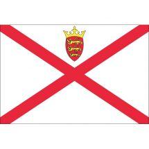 Länderfahne Jersey