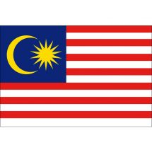 Länderfahne Malaysia