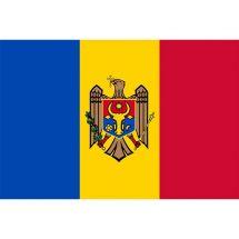 Länderfahne Moldau
