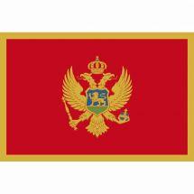 Länderfahne Montenegro