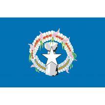 Fahne Gebiet Nördliche Marianen USA