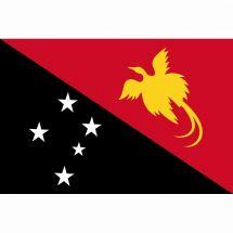 Länderfahne Papua-Neuguinea
