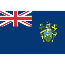 Fahne Gebiet Pitcairninseln Vereinigtes Königreich