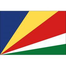 Länderfahne Seychellen