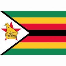 Länderfahne Simbabwe