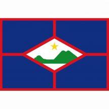 Fahne Gebiet Sint Eustatius Niederlande