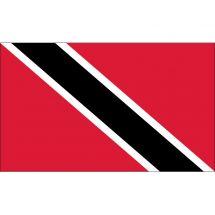 Länderfahne Trinidad und Tobago