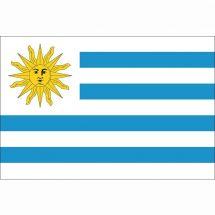Länderfahne Uruguay