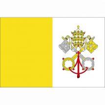 Länderfahne Vatikanstadt rechteckig