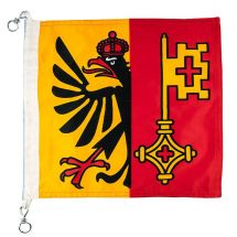Bootsfahne Kanton Genf Superflag® 30x30 cm