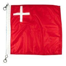 Bootsfahne Kanton Schwyz Superflag® 30x30 cm