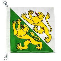 Bootsfahne Kanton Thurgau Superflag® 30x30 cm