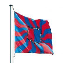 Kantonsfahne geflammt Tessin Superflag® 150x150 cm