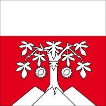 Gemeindefahne 1052 Le Mont-sur-Lausanne