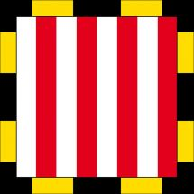 Drapeau commune 1247 Anières