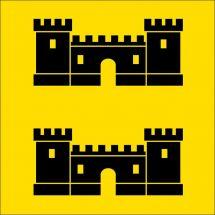Gemeindefahne 1372 Bavois