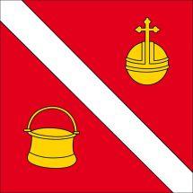 Gemeindefahne 1654 Cerniat FR
