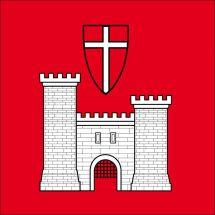 Gemeindefahne 1680 Romont FR