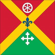 Gemeindefahne 1690 La Folliaz