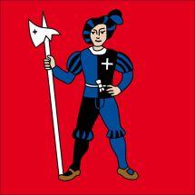 Gemeindefahne 1712 Tafers