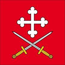 Gemeindefahne 1717 St. Ursen