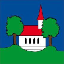 Gemeindefahne 1736 St. Silvester