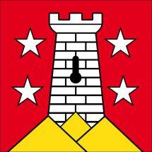 Gemeindefahne 1863 Ormont-Dessous