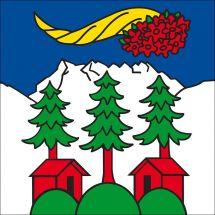 Gemeindefahne 1873 Val-d'Illiez