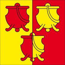 Drapeau commune 2536 Plagne