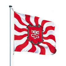 Kantonsfahne geflammt Nidwalden Superflag® 100x100 cm