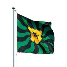 Kantonsfahne geflammt Schaffhausen Superflag® 100x100 cm