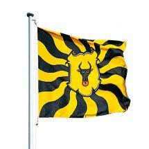 Kantonsfahne geflammt Uri Superflag® 150x150 cm