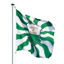 Kantonsfahne geflammt Waadt Superflag® 200x200 cm