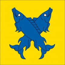 Gemeindefahne 2824 Val Terbi (Vicques)